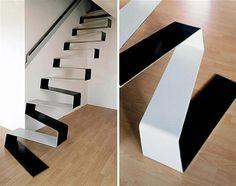 original escalera de estilo contemporáneo