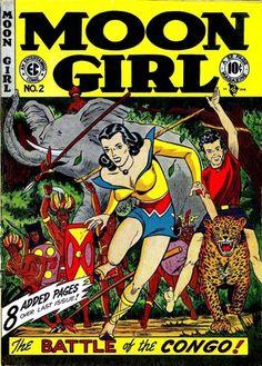 Moon Girl  #2- pre-new trend  EC comic