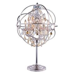 Elegant Lighting Geneva 1130 Table Lamp