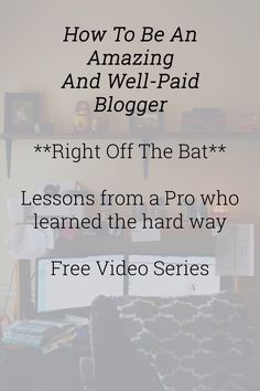 Ohhh!! Get the inside scoop in this fun and informal video series from a blogger who's been making a great profit part time for years now!!