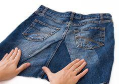 DIY PROJEKT: Alte Jeans zu einem Rock pimpen