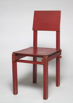 "Gerrit Thomas Rietveld ""Military"" Chair, 1923"
