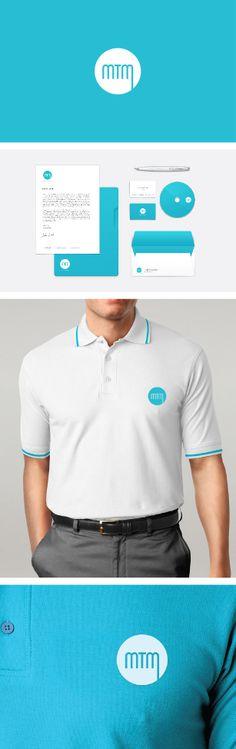 Branding development, logo, stationary and uniform design for Metta Tirta Mandiri - ice cream distribution company in Sulawesi, Indonesia