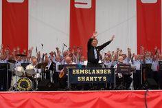Eemslander Shanty's organiseren buitenfestival in Veenpark