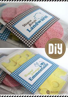 raumdinge: Kaufladenzubehör selber machen: Nr. 11 – Wurst- und Käseaufschnitt