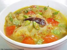 Dalma ( Vegetables cooked in a delicious thick lentil curry)