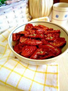 Come condire i pomodori secchi e servirli come contorno!