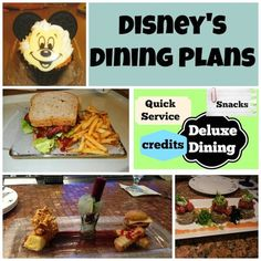 Lots of really helpful information about the Disney Dining Plans - if you're confused about them, you'll definitely want to read this article!