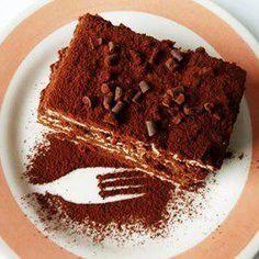 Gâteau aux petits-beurre et mousse au chocolat