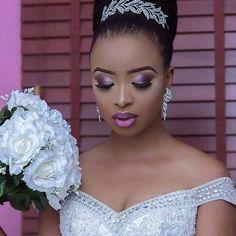 Une note sur 10 pour ce make up? 😍😍 #inspiration #makeup #makeuptutorial #africanwedding