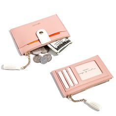 Women Ultra-thin Tassel Card Holder Solid PU Leather Coin Purse sales at a good price. Come to Newchic to buy a wallet, more cheap women wallets are provided online. Cheap Purses, Cheap Handbags, Black Handbags, Purses And Handbags, Popular Handbags, Canvas Handbags, Cheap Bags, Luxury Purses, Luxury Handbags