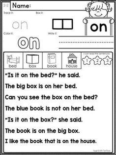 Sight Words Fluency and Word Work Set 2 Kindergarten Songs, Kindergarten Reading, Teaching Reading, Word Reading, Reading Help, Kids Reading, Learning, Teaching Sight Words, Vocabulary Words