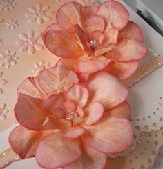 step by step instructions on making these flowers for