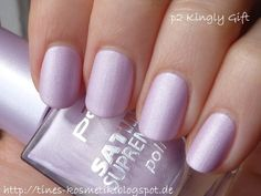 Last-Minute-Tipp: Kingly Gift (Satin Supreme Polish) Supreme, Nail Polishes, Nails, Last Minute, Arsenal, Queens, Satin, Beauty, Tips