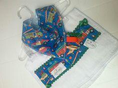 Kit bandana e paninho de boca - Coisas Fofas Ateliê