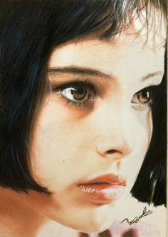 Leon Matilda, Nathalie Portman, After Dark, Colored Pencils, Animation, Draw, Photo And Video, Film, Illustration