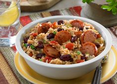 Red Beans and Rice - No Mardi Gras celebration is complete without this dish! Johnsonville.com