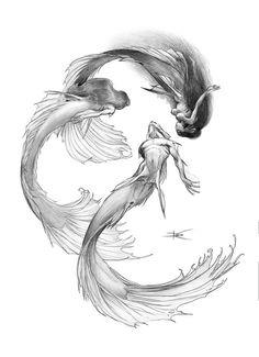 Mermaids - like the tails
