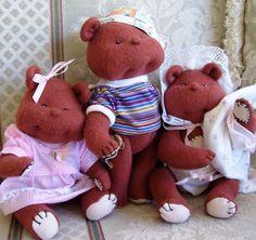 Dinky Baby Pattern 037 The 3 Dinky Bears 9 by DinkyBabyDolls