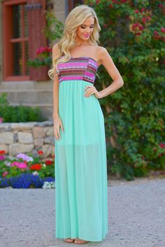 **10% OFF with code REPLAUREN at checkout + free, fast US shipping** || Not Just A Fairytale Maxi Dress from Closet Candy Boutique