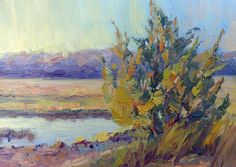 June 5, 2012 Paintings To See! A Moose Video!   Plein Aire in Maine