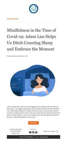 New Blog: Mindfulness and Sleep