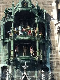Nice The famous Glockenspiel at the New Town Hall