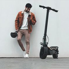 Electric Scooter Cecotec Bongo Serie Z Off Road 12 Electric House, Electric Scooter, Aluminum Wheels, Offroad, Led, Products, Finding Nemo, Small Appliances, Electric