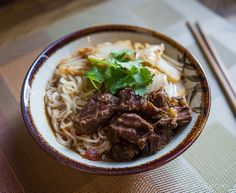 Quick & Easy Taiwanese Beef Noodle Soup by Tiny Urban Kitchen Taiwanese Beef Noodle Soup Recipe, Chinese Beef Noodle Soup, Asian Recipes, Beef Recipes, Soup Recipes, Ethnic Recipes, Chinese Recipes, Budget Recipes, Fast Recipes