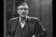 Professor Quatermass digs his fingers into his waist coat pockets and does a Frank Muir impression : ) Quatermass and the Pit, BBC tV, 6 part serialisation, 1958.