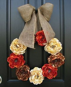 Welcome to How to Make a Burlap Wreath! Visit for Ideas