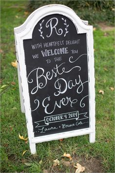 we welcome you to the best day ever
