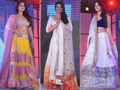At the annual Caring with Style event by Pidilite recently, there were Bollywood as well as TV stars walking the ramp for designers Shaina NC and Manish Malhotra. Socialite Sheetal Mafatlal, actors Tanisha Mukherjee, Sophie Chaudhary and Priyanka Chopra looked stunning at the do. Take a look!