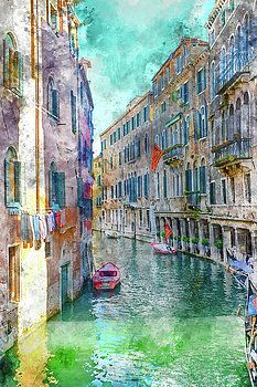 Venice Italy by Brandon Bourdages