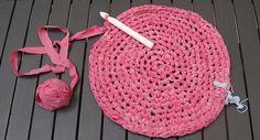 Cómo hacer crochet con tela