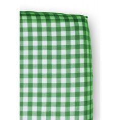 Cottonbaby boerenbont hoeslaken eenpersoons groen