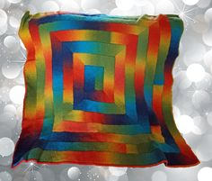 Items similar to Rainbow Frenzy Throw on Etsy Living Room Carpet, Throw Rugs, Rainbow, Blanket, Trending Outfits, Crochet, Handmade Gifts, Check, Magic