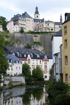 a road trip to Luxembourg City