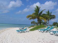 Coco Cay beach, Bahamas