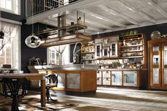 Vintage chic kitchens from Marchi Cucine | Industrial style kitchen ...