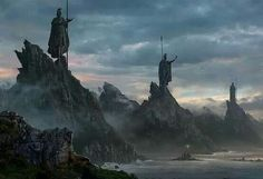 Coasts of Numenor