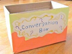 ESL Conversation Idea Box