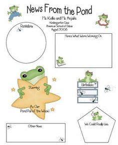 frog news letter