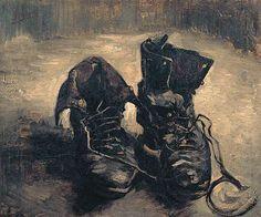 Vincent van Gogh • Een paar schoenen, 1886