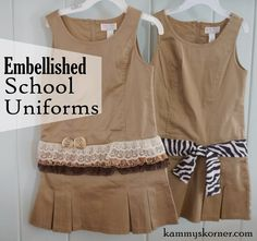5ed5de55160 I saw these khaki school uniform jumpers for girl s at Children s Place one  day. I had absolutely no reason on earth to buy school .