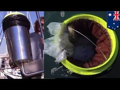 Ocean cleaning machine: Australian surfers quit jobs, invent Seabin to clean up ocean - TomoNews - YouTube