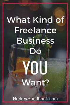 What kind of freelance business do you want? I've been asking myself that question A LOT lately and am finally coming up with some…