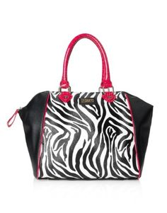 Lipsy Zebra Tote Bag