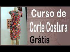 Corte e Costura passo-a-passo Vestido Tubinho Bicolor - Vestido Tubo - YouTube