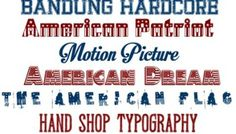 Free 4th of July Fonts!